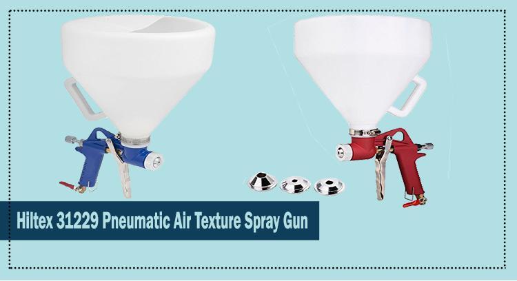 Hiltex 31229 Pneumatic Air Texture Spray Gun Review