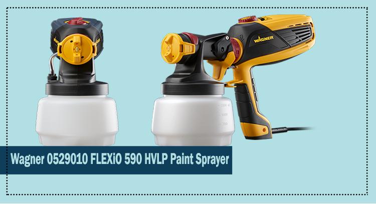 Wagner 0529010 Flexio 590 HLVP Paint Sprayer Review