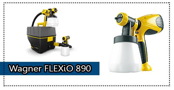 Wagner 0529021 FLEXiO 890 HVLP Paint Sprayer Review
