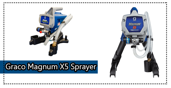 Graco Magnum 262800 X5 Stand Paint sprayer Review