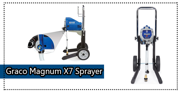 Graco Magnum 262805 X7 Cart Airless Paint Sprayer Review