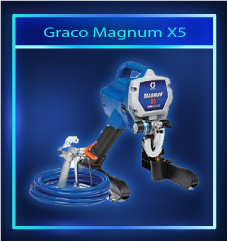 Graco Magnum X5: Airless Paint Sprayer For Small DIY Projects