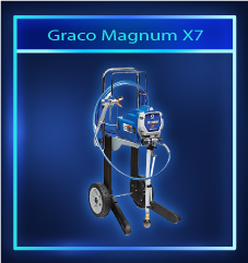 Graco Magnum X7: Best airless paint sprayer for large jobs