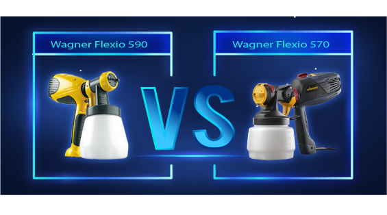 Wagner Flexio 590 vs 570