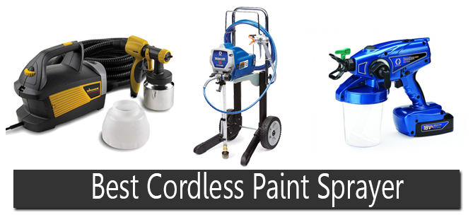 Best Cordless Paint Sprayer | Reviews and Buyer's Guide