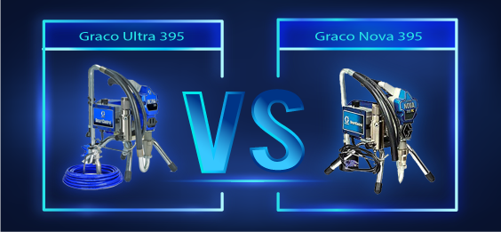 Graco Ultra 395 vs Nova 395, Which One is Best? A Quick View Comparison 2019