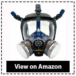 Full Face Organic Vapor Respirator