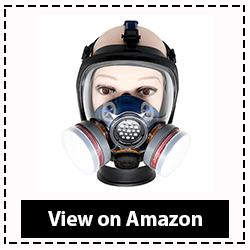 PD-100 Organic Vapor Full Face Respirator